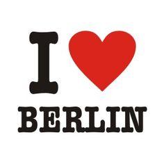 i (heart) berlin poster woman - Google Search