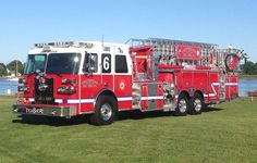 The Chestertown Volunteer Fire Company recently placed a 2014 Sutphen 100' Tower Ladder in service.