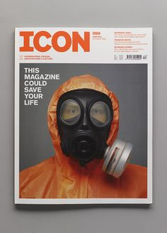 ICON MAGAZINE – Redesign, Dec 2010 – Front Cover by SeptemberIndustry, via Flickr