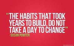 write three subtopics for the general topic bad habits