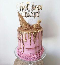 K 14th Birthday Cakes, Birthday Cakes For Teens, 30th Birthday Parties, Cupcakes, Cake Cookies, Cupcake Cakes, Beautiful Cakes, Amazing Cakes, 40th Bday Ideas