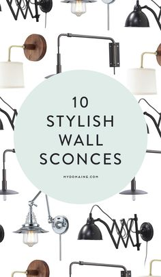 10 wall sconce styles for the perfect home office