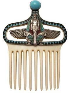 Egyptian Revival Comb 1905