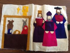 I previously posted the Old Testament of my mom's quiet books she made for us as kids and I wanted to make sure to follow up with the New T...