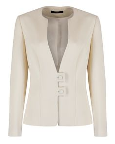Ideas sewing clothes jackets style Source by ideas sewing Sewing Clothes Women, Clothes For Women, Suits For Women, Jackets For Women, Stylish Jackets, Dress Suits, Jacket Style, Suit Jacket, Work Attire