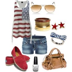 4th of July Fun, created by marie-cherry-sawyer.polyvore.com