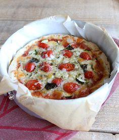 Torta di pizza senza glutine