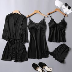 Cute Sleepwear, Sleepwear Women, Diy Fashion, Womens Fashion, Shorts Jeans, Pretty Lingerie, Cute Casual Outfits, Stylish Dresses, Nightwear