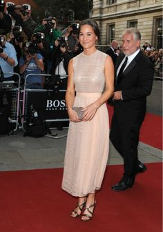 PIPPA MIDDLETON at 2014 GQ Men of the Year Awards in London Via HawtCelebs