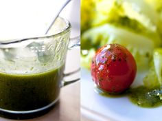Lemon Basil Salad Dressing