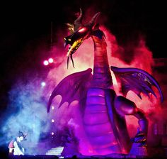 Fantasmic! Finally saw this show for the first time our last trip. :)
