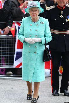 The Queen in Nottingham