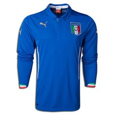 2014 ITALY Soccer Team Home Long Sleeve Jersey,all jerseys are Thailand AAA+ quality,order will be shipped in days after payment,guaranteed original best quality China shirts Soccer Gear, Soccer Uniforms, Kids Soccer, World Cup Shirts, World Cup Jerseys, Cheap Football Shirts, Soccer Shirts, Soccer Jerseys, Italy National Football Team