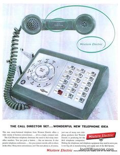 Western Electric- The call director set