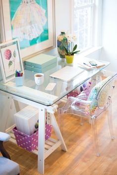 Desk Space - Laura Trevey Home Office