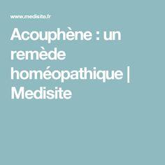 Acouphène : un remède homéopathique   Medisite