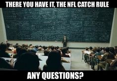 The NFL explaining what a catch is. Nfl Memes, Football Memes, Sports Memes, Gym Humour, Workout Humor, Freestyle Libre, Funny Nfl, Novo Nordisk, Fitness Humor