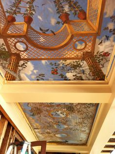 Steve Shriver ~ trompe l' oeil ceiling