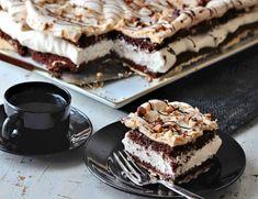 The world's best chocolate cake - Franciska Beautiful World Pudding Desserts, No Bake Desserts, Cake Recipes, Dessert Recipes, Norwegian Food, Sweets Cake, Bread Cake, Let Them Eat Cake, Yummy Cakes