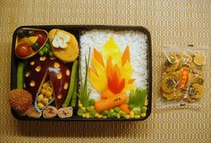 I bento box più originali: #Bonfire