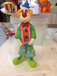Fondant clown