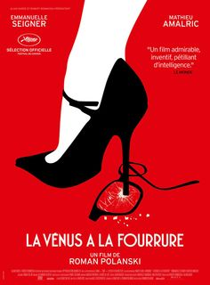 International Trailer & Poster For Roman Polanski's 'Venus In Fur' Starring Emmanuelle Seigner & Mathieu Amalric