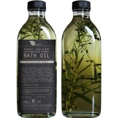 AMBRE BOTANICALS - Rosemary, Thyme & Mint Invigorating Herbal Bath Oil