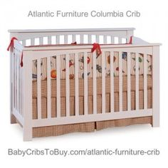 Atlantic Furniture Columbia Convertible Crib, Antique Walnut (Discontinued by Manufacturer) Bed Guard Rails, Columbia, Atlantic Furniture, Convertible Crib, Baby Cribs, Mattress, Toddler Bed, Nursery, Home Decor