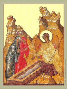 The Holy Myrrhbearers Religious Icons, Holi, Celebrations, Christian, Painting, Image, Art, Jesus Painting, Art Background