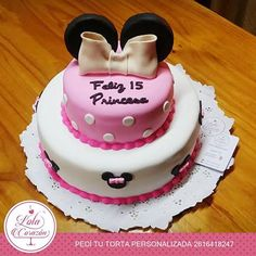 Minnie Cake  www.facebook.com/lolacorazon.tortas www.instagram.com/lolacorazon.tortas