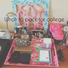 What to Pack for College | Caralina Style | Bloglovin'