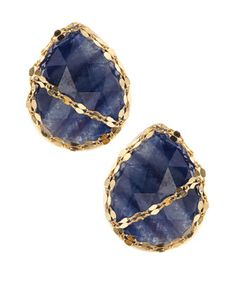 Spellbound Blue Sapphire Stud Earrings by Lana at Neiman Marcus Last Call.
