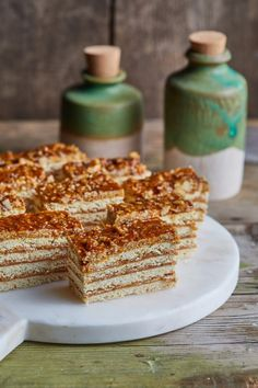Grillázs szelet | Street Kitchen Cereal, Sweet Treats, Recipies, Baking, Breakfast, Food, Recipes, Morning Coffee, Sweets