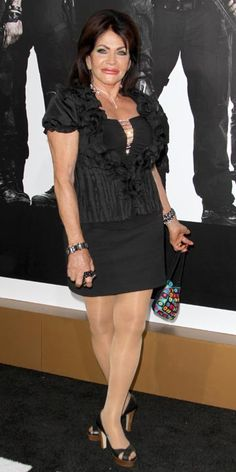 90 year old Jackie Stallone 2012