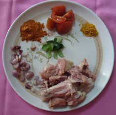 Your description here Chole Masala Powder Recipe, Chettinad Chicken, Indian Food Recipes, Chicken Recipes, Meat, Kitchen, Cooking, Kitchens, Indian Recipes