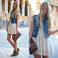 Urbanos Fashion: Amor do dia: O colete Jeans