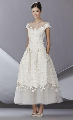 Aisle Style: The Must-See Wedding Dresses at Bridal Fashion Week Fall 2014: Carolina Herrera Bridal Fall 2014