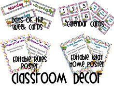 Back to School Thoughts Already? A Giveaway! Classroom Organization Labels, Classroom Displays, Classroom Decor, Beginning Of School, New School Year, Back To School, 4th Grade Classroom, Future Classroom, Teacher Binder