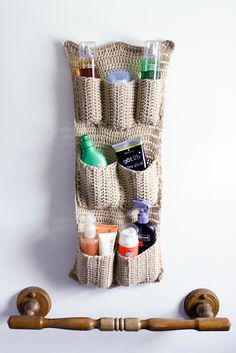 Ravelry: Pocketed Wall Organizer pattern by Lacie Nichols