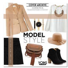 ** Win Yoins Blouse** by av-anul on Polyvore featuring moda, MaxMara, Style & Co., Etro, yoins and yoinscollection