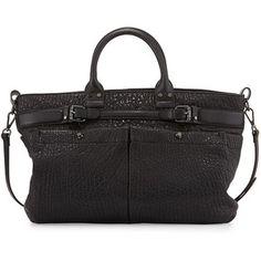 Kooba Kira Bubble Leather Satchel Bag