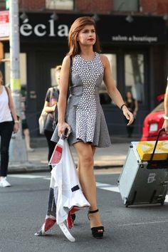 Miroslava Duma - Best Street Style Shots of 2013 - ELLE