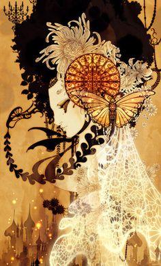 darksilenceinsuburbia:  Aya Kato. Snow White, 2005. http://www.ayakato.net/