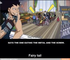 Gehe, Gajeel doesn't even know how crazy they are yet.