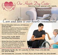 Our Hearts Day Center Treat Each Individual With Respect, Dignity, and Kindness