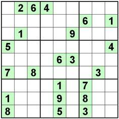 Number Logic Puzzles: 22500 - Sudoku size 9