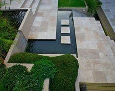 Marmor Platten Pool Gestaltung Ideen Marmor Platten Gras Sitzfläche Holz
