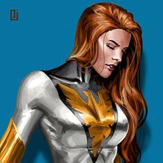 Marvel Comics Art, Marvel X, Marvel Heroes, Mundo Marvel, Captain Marvel, Comic Book Characters, Marvel Characters, Comic Character, Jean Grey Phoenix