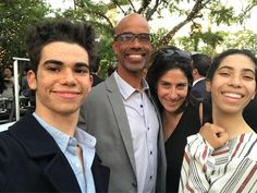 """Libby Boyce on Instagram: """"The fam bam at La Family Housing Annual Gala!! The best event of the year. Fun and good for the soul!"""" Cameron Boyce Family, Cameron Boyce Girlfriend, Victor Boyce, Rip Love, Kenny Ortega, Sofia Carson, Disney Descendants, Adam Sandler, Now And Forever"""