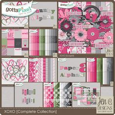 XOXO: Complete Collection by Jen C Designs JCD_XOXO_All